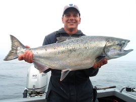 Can the salmon fishing really be this good the official for Salmon fishing bay area