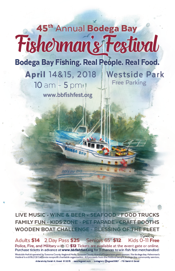 45th Annual Bodega Bay Fisherman's Festival @ Westside Park
