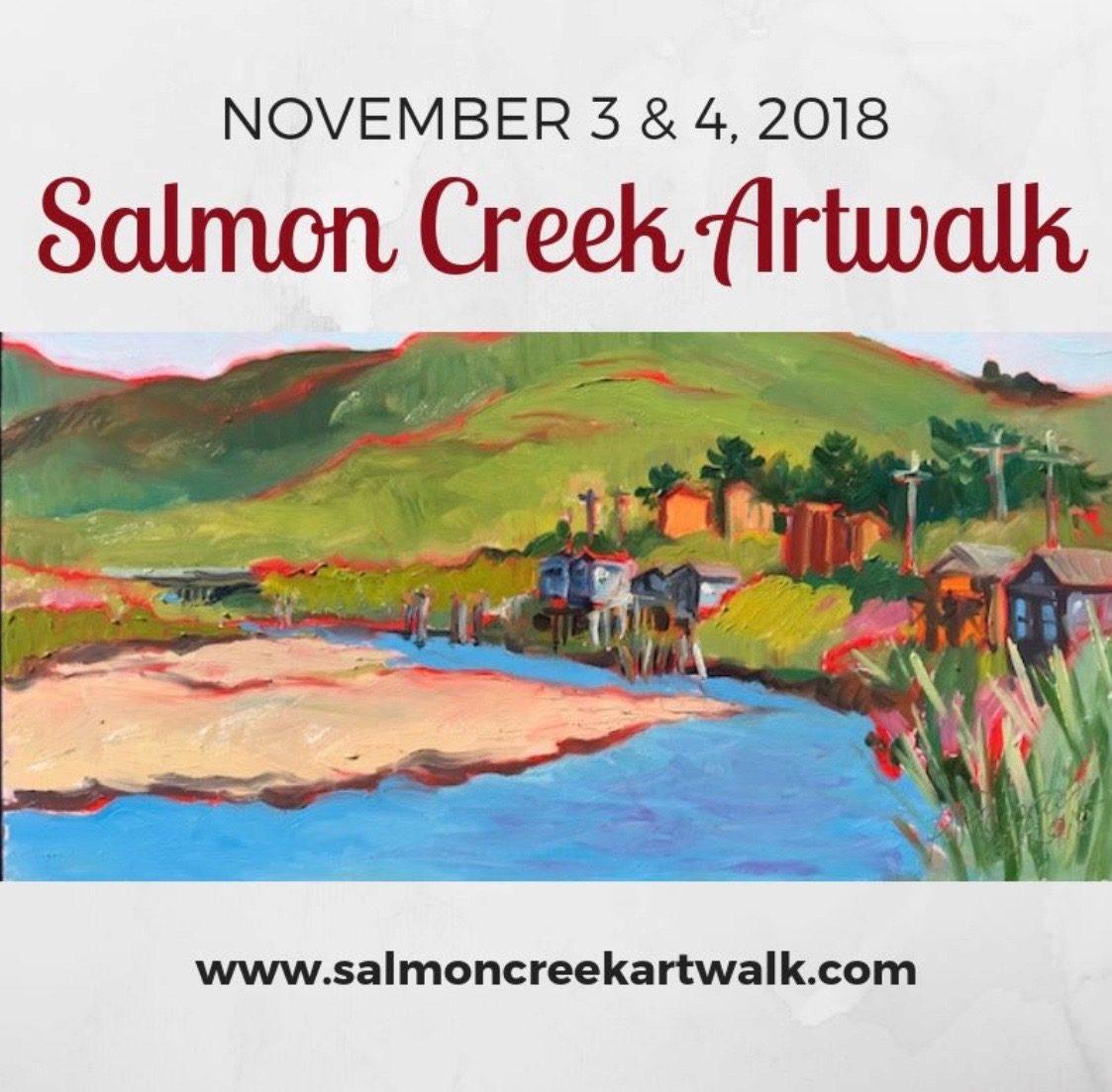 Salmon Creek Artwalk - Nov 3 & 4 @ Salmon Creek Artwalk