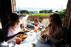 Thanksgiving Dinner at the Bay View @ Bay View Restaurant at the Inn at the Tides in Bodega Bay