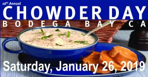 Chowder Day 2019 - Jan 26th @ Bodega Bay, CA