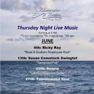 Duarte: Thursday Night Live Music @ Bluewater Bistro